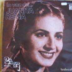 Disques de vinyle: LP - JUANITA REINA - LA VOZ DE JUANITA REINA (DOBLE DISCO, SPAIN, EMI ODEON 1976). Lote 205435990
