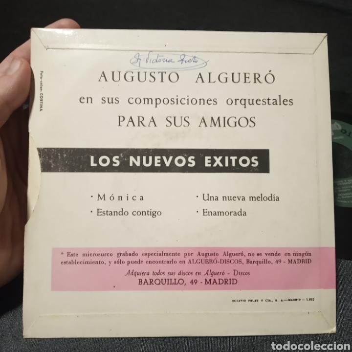 Discos de vinilo: Augusto alguero composiciones orquestales para amigos single vinilo - Foto 2 - 205437413