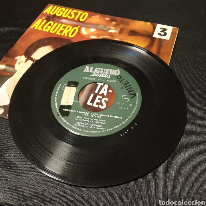 Discos de vinilo: Augusto alguero composiciones orquestales para amigos single vinilo - Foto 3 - 205437413