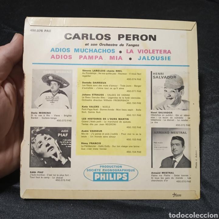 Discos de vinilo: Vinilo maxi single Carlos Perón y su orquesta de tangos - Foto 2 - 205439083