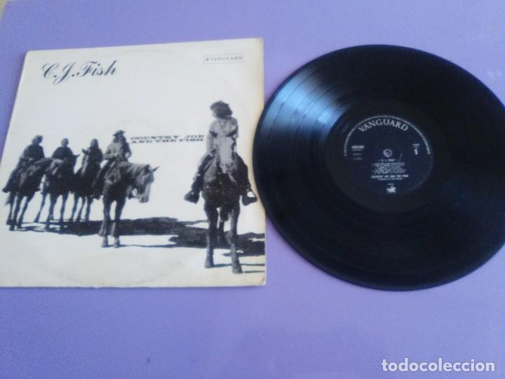 JOYA LP. ORIGINAL UK 1970. COUNTRY JOE AND THE FISH ‎– C.J. FISH. SELLO: VANGUARD ‎– 6359 002 (Música - Discos - LP Vinilo - Pop - Rock - Extranjero de los 70)