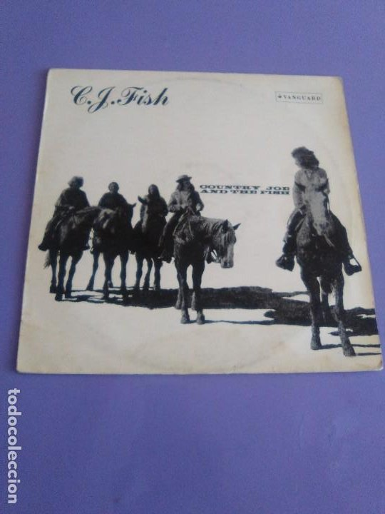 Discos de vinilo: JOYA LP. ORIGINAL UK 1970. COUNTRY JOE AND THE FISH ‎– C.J. Fish. Sello: Vanguard ‎– 6359 002 - Foto 2 - 205440531