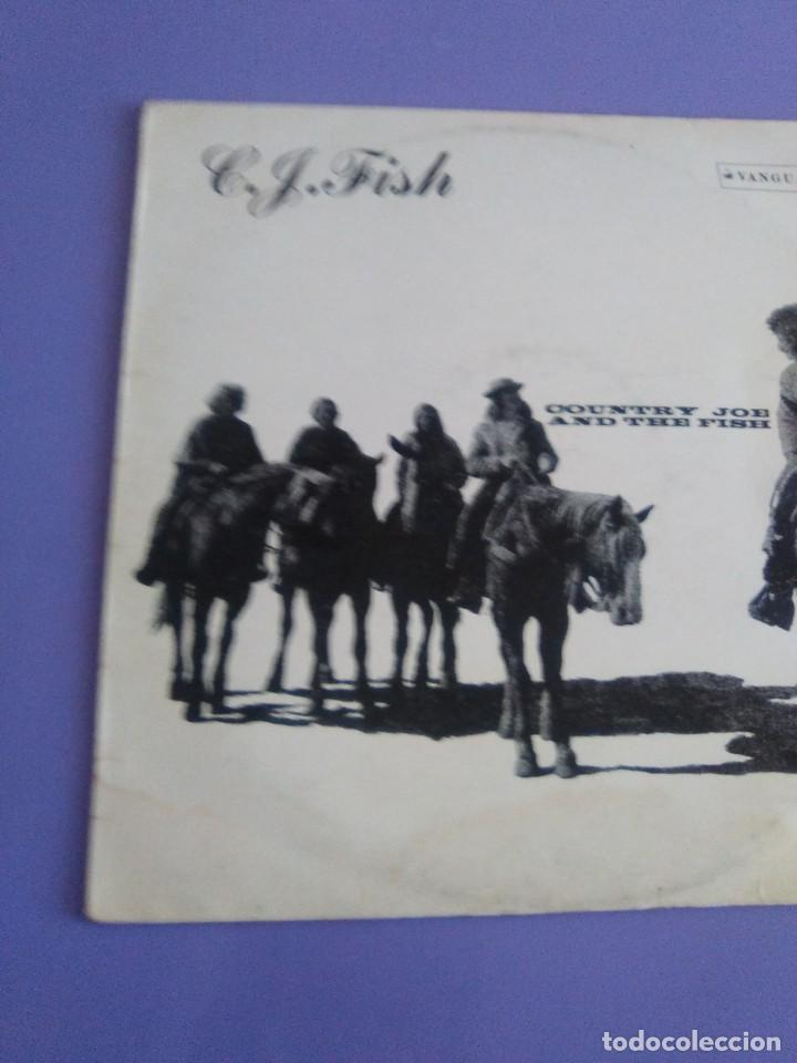 Discos de vinilo: JOYA LP. ORIGINAL UK 1970. COUNTRY JOE AND THE FISH ‎– C.J. Fish. Sello: Vanguard ‎– 6359 002 - Foto 3 - 205440531