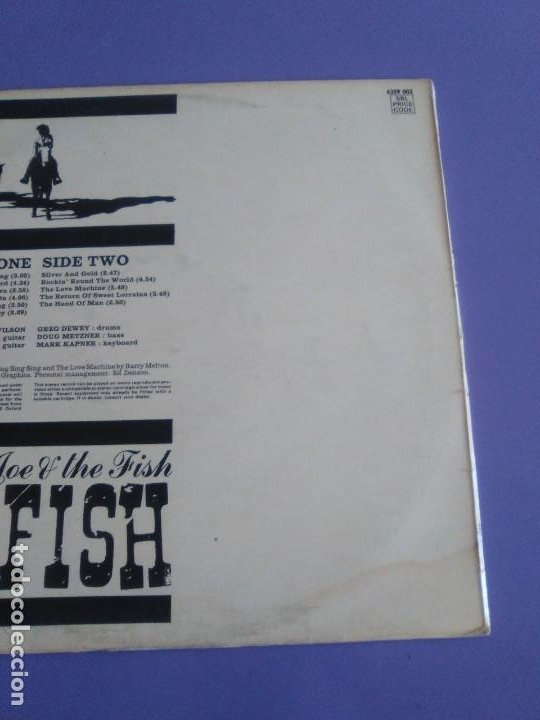 Discos de vinilo: JOYA LP. ORIGINAL UK 1970. COUNTRY JOE AND THE FISH ‎– C.J. Fish. Sello: Vanguard ‎– 6359 002 - Foto 9 - 205440531