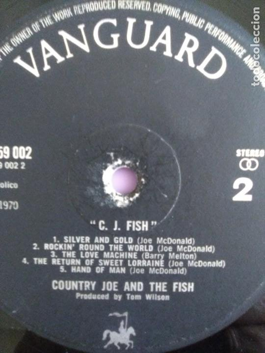 Discos de vinilo: JOYA LP. ORIGINAL UK 1970. COUNTRY JOE AND THE FISH ‎– C.J. Fish. Sello: Vanguard ‎– 6359 002 - Foto 13 - 205440531