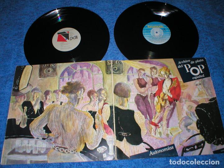ARCHIVO DE PLATA DEL POP ESPAÑOL SPAIN LP X 2 AUTONOMIAS LLUIS LLACH RAIMON LABORDETA JOAQUIN DIAZ (Música - Discos - LP Vinilo - Cantautores Españoles)