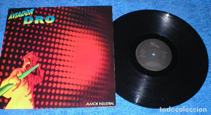 AVIADOR DRO SPAIN MAXI SINGLE ORIGINAL 1983 AMOR INDUSTRIAL ELECTRONIC SYNTH POP MINIMAL EXCELENTE ! (Música - Discos de Vinilo - Maxi Singles - Grupos Españoles de los 70 y 80)