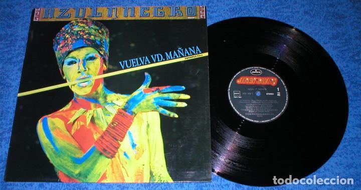 AZUL Y NEGRO SPAIN MAXI SINGLE ORIGINAL 1986 VUELVA USTED MAÑANA ELECTRONIC SYNTH POP BUEN ESTADO (Música - Discos de Vinilo - Maxi Singles - Grupos Españoles de los 70 y 80)