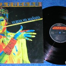 Discos de vinilo: AZUL Y NEGRO SPAIN MAXI SINGLE ORIGINAL 1986 VUELVA USTED MAÑANA ELECTRONIC SYNTH POP BUEN ESTADO. Lote 205447518