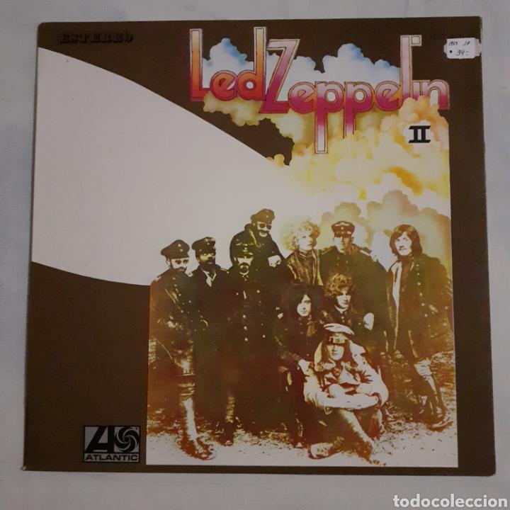 LED ZEPPELIN II. UA, HATS 421-43. ESPAÑA 1969. FUNDA EX. DISCO VG++. (Música - Discos - LP Vinilo - Pop - Rock Extranjero de los 50 y 60)