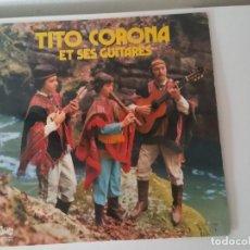 Discos de vinilo: GRANDE DISCO DE TITO CORONA ,ET SES GUITARES. Lote 205455318