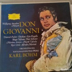 Discos de vinilo: DISCO EN VINYL DE DON,GIOVANNI KARL,BOHM. Lote 205456646