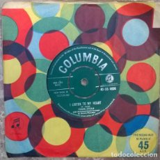 Disques de vinyle: FRANK IFIELD. I REMEMBER YOU/ I LISTEN TO MY HEART. COLUMBIA, UK 1962 SINGLE. Lote 205456995