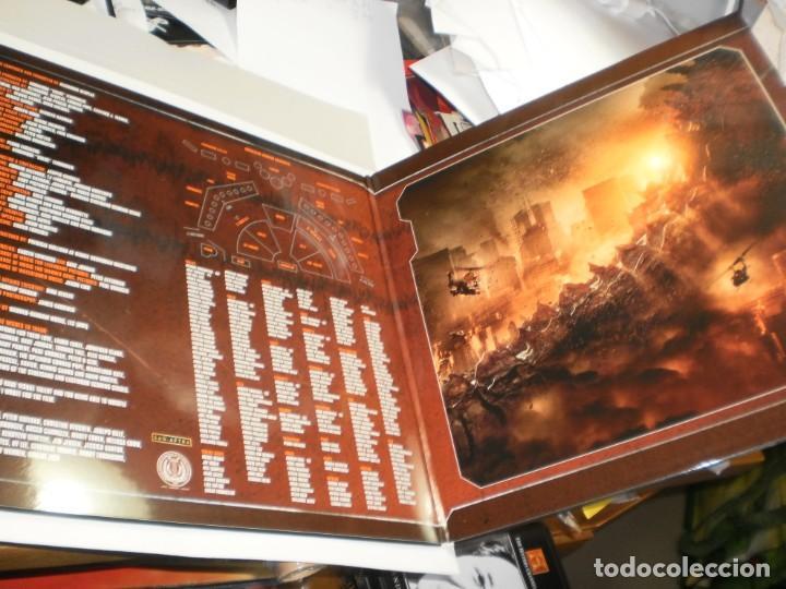 Discos de vinilo: lp 2 discos rojos godzilla. alexandre desplat. warner 2014 eu con póster (probado, seminuevo) - Foto 3 - 205459647