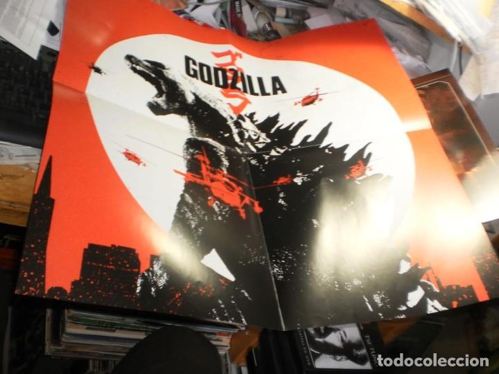 Discos de vinilo: lp 2 discos rojos godzilla. alexandre desplat. warner 2014 eu con póster (probado, seminuevo) - Foto 4 - 205459647