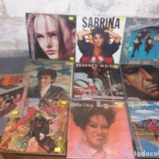 Discos de vinilo: LOTE 6 DE LP Y MAXI VARIADOS. Lote 205462192