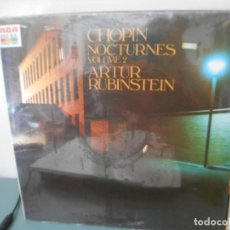 Disques de vinyle: CHOPIN NOCTURNES VOLUME 2 ARTUR RUBINSTEIN. Lote 205471661
