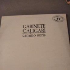 Discos de vinilo: DISCO LP. GABINETE CALIGARI. CAMINO SORIA. 1987. Lote 205505707