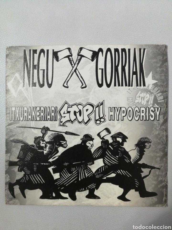 NEGU GORRIAK ITXURAKERIARI STOP HYPOCRISY TOUR 93 (Música - Discos - Singles Vinilo - Punk - Hard Core)