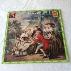 Discos de vinilo: MOZART.CONCIERTOS PARA PIANO Y ORQUESTA N°9 EN MI BEMOL MAYOR. N°21 EN DO MAYOR.C.ESCHENBACH.LP.EMI.. Lote 205509076