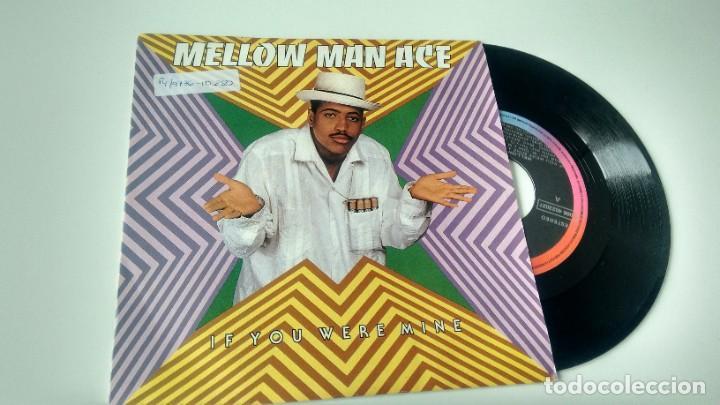 SINGLE ( VINILO) -PROMOCION- DE MELLOW MAN ACE AÑOS 90 (Música - Discos - Singles Vinilo - Rap / Hip Hop)
