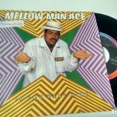 Discos de vinilo: SINGLE ( VINILO) -PROMOCION- DE MELLOW MAN ACE AÑOS 90. Lote 205509888