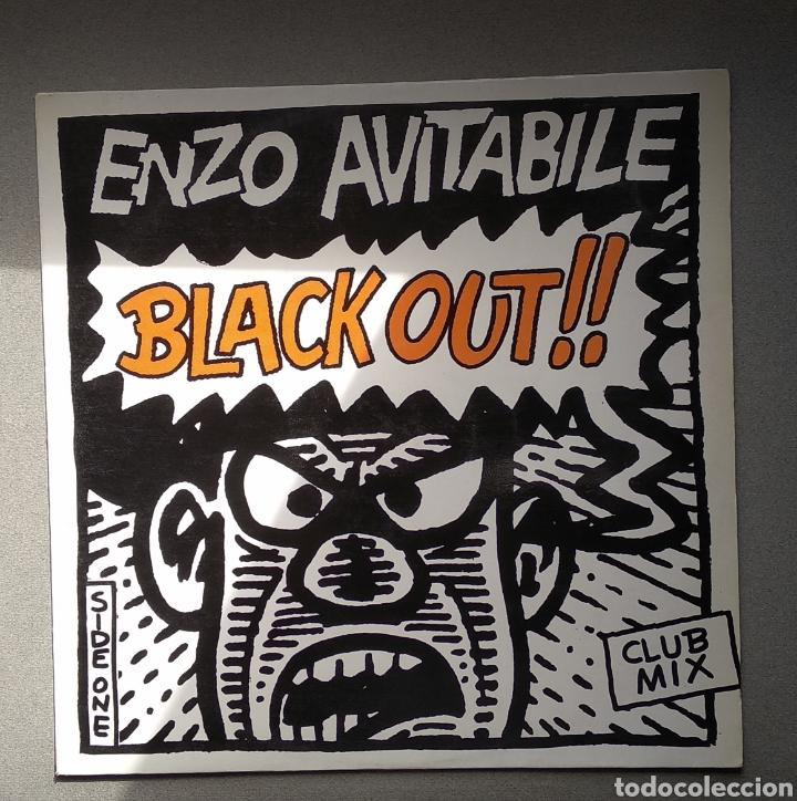 ENZO AVITABILE,,,BLACK OUT (Música - Discos de Vinilo - Maxi Singles - Disco y Dance)