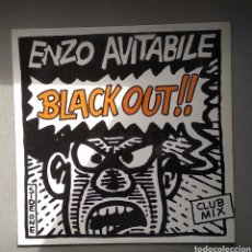 Discos de vinilo: ENZO AVITABILE,,,BLACK OUT. Lote 205513470