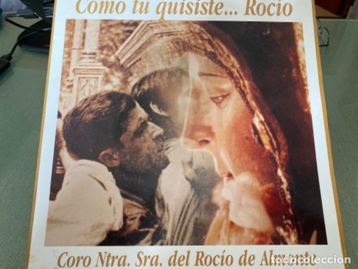 ANTIGUO LP COMO TÚ QUISISTE... ROCIO CORO NTRA SRA DEL ROCIO ALMONTE (Música - Discos - LP Vinilo - Flamenco, Canción española y Cuplé)
