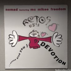 Discos de vinilo: NOMAD FEATURING MC MUJER FREEDOM. Lote 205515371
