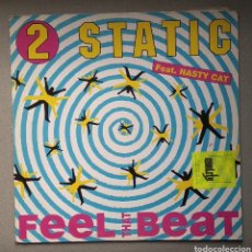 Discos de vinilo: STATIC,,,FEEL THAT BEAT. Lote 205515813