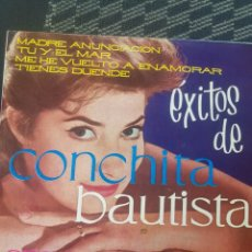 Discos de vinilo: CONCHITA BAUTISTA - EXITOS -, EP, MADRE ANUNCIACION. Lote 205516727