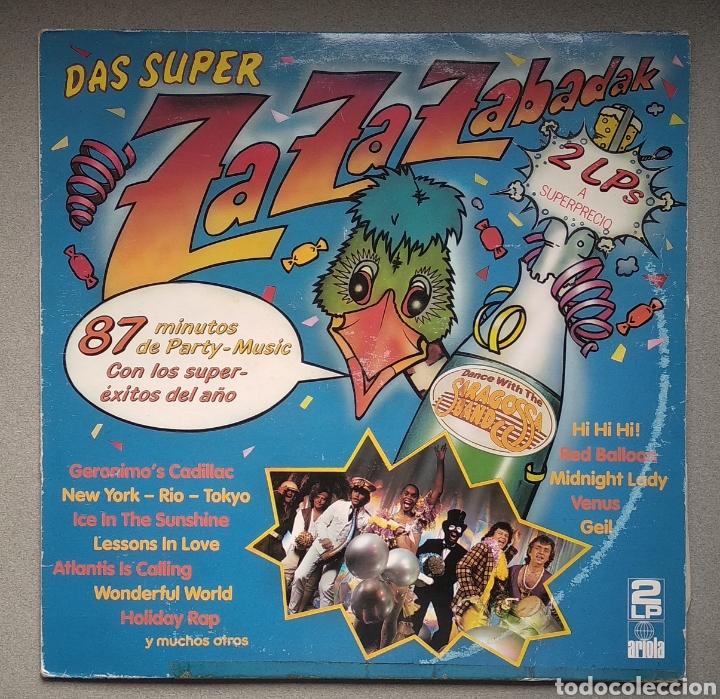 ZAZAZABADAK,,, DOBLE LP (Música - Discos - LP Vinilo - Disco y Dance)