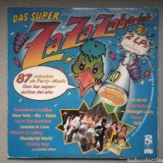 Discos de vinilo: ZAZAZABADAK,,, DOBLE LP. Lote 205516945