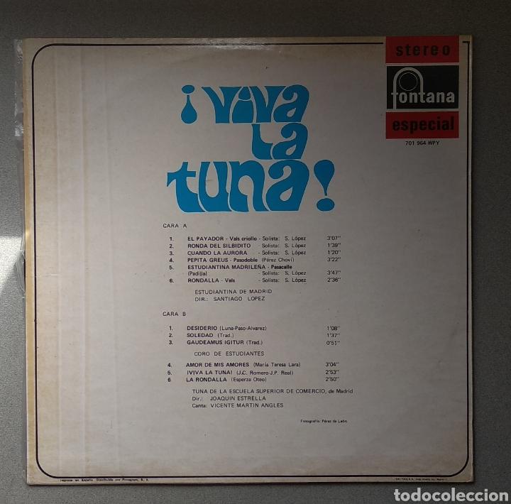 Discos de vinilo: Viva la tuna - Foto 2 - 205517447