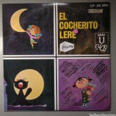 Discos de vinilo: EL COCHERITO LEER,,,CANCIONES INFANTILES. Lote 205519067