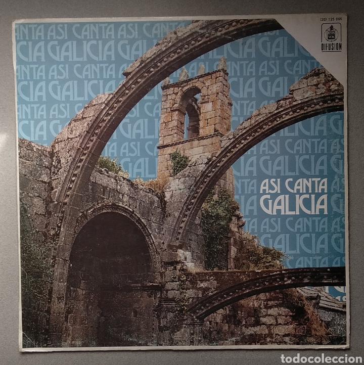 ASÍ CANTA GALICIA (Música - Discos - LP Vinilo - Étnicas y Músicas del Mundo)