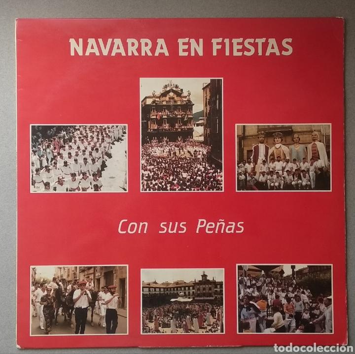 NAVARRA EN FIESTAS (Música - Discos - LP Vinilo - Étnicas y Músicas del Mundo)