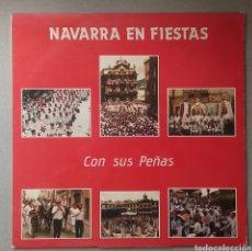 Discos de vinilo: NAVARRA EN FIESTAS. Lote 205520615