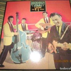 Discos de vinilo: ROCKABILLY STARS VOLUME 1 DOBLE LP - EDICION U.S.A. - EPIC RECORDS 1981 GATEFOLD COVER -. Lote 205522755