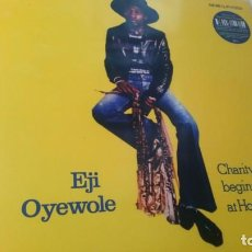 Discos de vinilo: EJI OYEWOLE - CHARITY BEGINS AT HOME. Lote 205523716