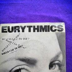 Discos de vinilo: EURYTMICS. SINGLE. VINILO.. Lote 205524587