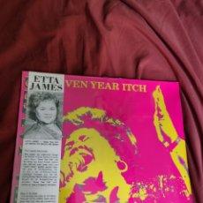 Discos de vinilo: ETTA JAMES SEVEN YEARS ITCH NUEVO PRECINTADO 1988. Lote 205529463