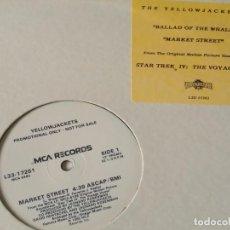 Discos de vinilo: YELLOWJACKETS - BALLAD OF THE WHALE / MARKET STREET - 1986. Lote 205530915