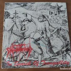 Discos de vinilo: PHLEBOTOMIZED - IN SEARCH OF TRANQUILLITY. Lote 205530981