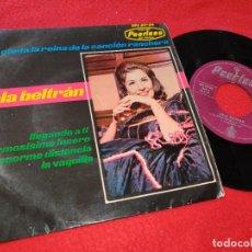 Discos de vinilo: LOLA BELTRAN LLEGANDO A TI/LA ENORME DISTANCIA/LA VAQUILLA +1 EP 1964 PEERLESS SPAIN ESPAÑA. Lote 205537377