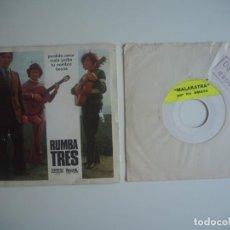 Discos de vinilo: LOTE LOS AMAYA RUMBA EP PERDIDO AMOR + 3 (ORLADOR, 1973) / SINGLE MALATRAKA (TEST PRESS). Lote 205538740