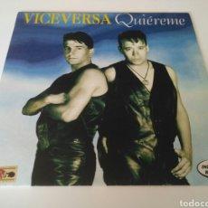 Discos de vinilo: VICEVERSA - QUIEREME. Lote 205540082