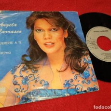 Discos de vinilo: ANGELA CARRASCO QUERERTE A TI/LASTIMA 7'' SINGLE 1979 ARIOLA. Lote 205541960