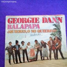 Discos de vinilo: GEORGIE DANN. SINGLE. VINILO. Lote 205542855